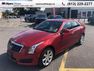 Used 2014 Cadillac ATS AWD  AWD, 2.0 TURBO, SUNROOF, AUTO, HTD SEATS for sale in Ottawa, ON