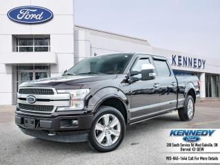 Used 2019 Ford F-150 PLATINUM for sale in Oakville, ON