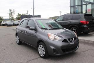 Used 2016 Nissan Micra SV MANUELLE MAIN LIBRE*AIR CLIMATISÉ for sale in Lévis, QC