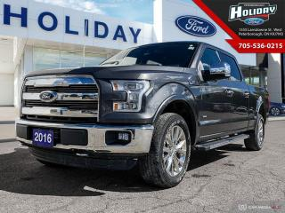 Used 2016 Ford F-150 Lariat for sale in Peterborough, ON