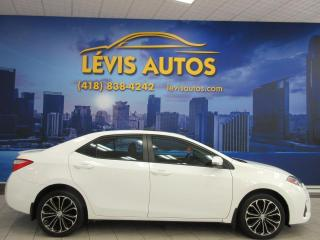 Used 2016 Toyota Corolla S SPORT AUTOMATIQUE TOIT OUVRANT AIR CLI for sale in Lévis, QC
