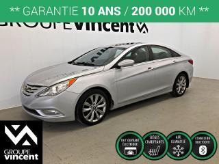 Used 2013 Hyundai Sonata SE TOIT CUIR ** GARANTIE 10 ANS ** Bien équipé, confortable et abordable! for sale in Shawinigan, QC