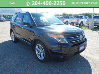 Used 2015 Ford Explorer LIMITED for sale in Brandon, MB