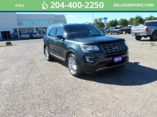 Used 2016 Ford Explorer LIMITED for sale in Brandon, MB