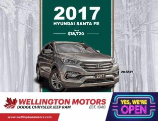Used 2017 Hyundai Santa Fe Sport Premium --> New Rear Pads & Rotors !! for sale in Guelph, ON