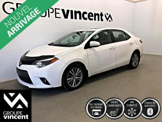 Used 2015 Toyota Corolla LE ** GARANTIE 10 ANS ** Fiable et économique! for sale in Shawinigan, QC