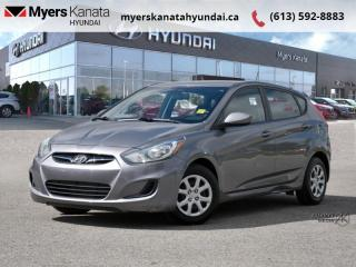 Used 2013 Hyundai Accent GL  - $55 B/W - Low Mileage for sale in Kanata, ON