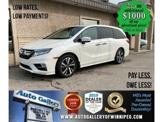 Used 2018 Honda Odyssey Touring* B.cam/Htd seats/Nav for sale in Winnipeg, MB