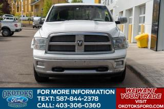 Used 2011 Dodge Ram 1500 SLT/CENTER CONSOLE/4X4/ for sale in Okotoks, AB