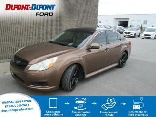 Used 2011 Subaru Legacy 3.6R auto. berline 4 portes avec groupe for sale in Gatineau, QC
