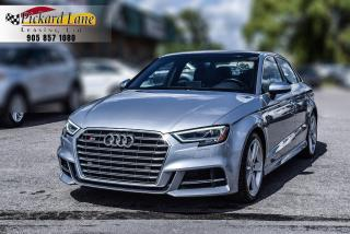 Used 2017 Audi S3 2.0T Progressiv ACCIDENT FREE! | 1 OWNER! for sale in Bolton, ON