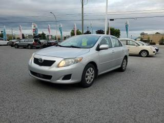 Used 2009 Toyota Corolla 4DR SDN MAN CE for sale in Gatineau, QC