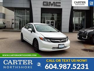 Used 2012 Honda Civic LX for sale in North Vancouver, BC