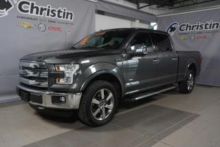 Used 2016 Ford F-150 LARIAT SUPERCREW CUIR SUNROOF NAVIGATION for sale in Montréal, QC