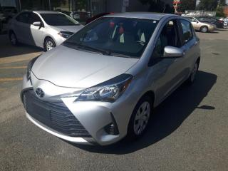 Used 2018 Toyota Yaris TRES BAS MILLAGE * CAMERA * SIEGES CHAUFFANT for sale in Longueuil, QC