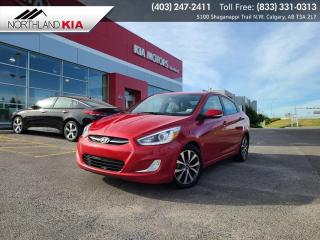 Used 2015 Hyundai Accent GLS HEATED SEATS, ACTIVE ECO MODE for sale in Calgary, AB