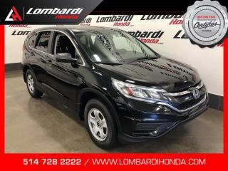 Used 2016 Honda CR-V LX|CAM|BLUETOOTH| for sale in Montréal, QC