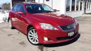 Used 2009 Lexus IS IS 250 AWD 6-Speed Sequential for sale in Kitchener, ON