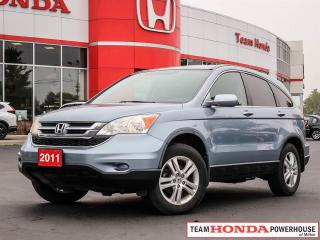 Used 2011 Honda CR-V EX-L--1 Owner--Low KMS--Leather--AWD for sale in Milton, ON