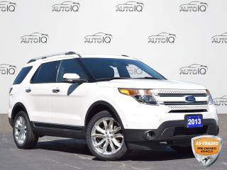 Used 2013 Ford Explorer Limited AS IS   7 SEATS   ALL WHEEL DRIVE   LEATHER   HEATED/COOLED SEATS   SUNROOF   GPS   TOW PACKAGE for sale in Waterloo, ON
