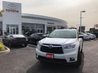 Used 2015 Toyota Highlander Limited LIMITED - ONE OWNER - FULLY SERVICED for sale in Stouffville, ON