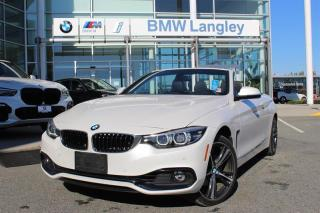 Used 2018 BMW 4 Series 430 xDrive Cabriolet for sale in Langley, BC
