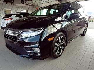 Used 2018 Honda Odyssey TOURING - ENTIÈREMENT EQUIPE - GPS - CUIR - DVD for sale in Ste-Julie, QC
