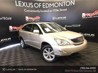 Used 2008 Lexus RX 350 5A ULTRA PREMIUM PACKAGE 18 ALLOYS for sale in Edmonton, AB