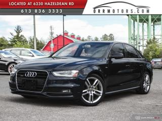 Used 2016 Audi A4 2.0T Technik plus TECHNIK + | S-LINE! AWD for sale in Stittsville, ON
