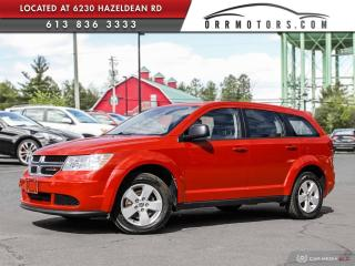 Used 2015 Dodge Journey CVP/SE Plus A/C | CRUISE | POWER OPTIONS for sale in Stittsville, ON