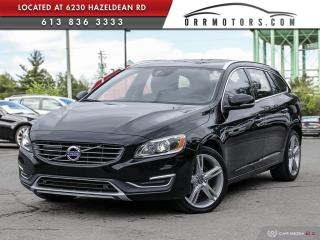 Used 2017 Volvo V60 T5 Special Edition Premier AWD | NAV | REVERSE CAM | SUNROOF | HEATED LEATHER for sale in Stittsville, ON