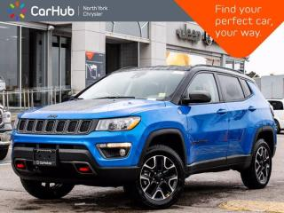 New 2021 Jeep Compass New Trailhawk 4x4 Active Driver Assists Heated Front Seats & Wheel for sale in Thornhill, ON