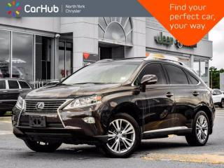Used 2014 Lexus RX 450h Hybrid AWD Navigation Mark Livinson Sound  HeadsUp Display Sunroof Blind Spot for sale in Thornhill, ON