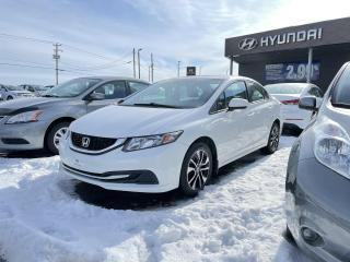Used 2015 Honda Civic 4dr Man EX,MAGS,TOIT,A/C,CRUISE CAMERA for sale in Mirabel, QC