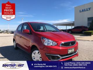 Used 2019 Mitsubishi Mirage ES|Cruise control|Bluetooth|Reverse cam| for sale in Leamington, ON