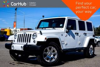 Used 2016 Jeep Wrangler Unlimited Sahara 4x4 Hard Top Navigation Bluetooth Remote Start Leather Heated Front Seats 18