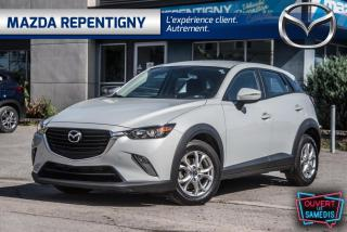 Used 2017 Mazda CX-3 AWD GS GPS DÉMAREUR 60.40$/SEM for sale in Repentigny, QC