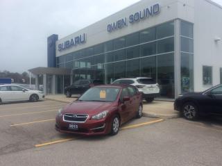 Used 2015 Subaru Impreza 2.0i for sale in Owen Sound, ON