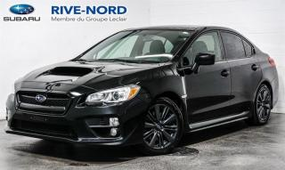 Used 2017 Subaru WRX MAGS+BLUETOOTH+CAM.RECUL+SIEGES.CHAUFFANTS for sale in Boisbriand, QC