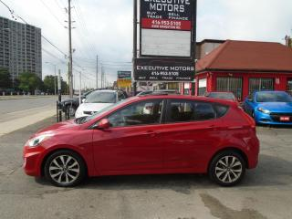 Used 2015 Hyundai Accent SE/ ONE OWNER / LOADED / SUNROOF / HEATED SEATS / for sale in Scarborough, ON