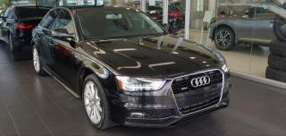 Used 2016 Audi A4 PROGRESSIV PLUS, AWD, NAVI for sale in Edmonton, AB