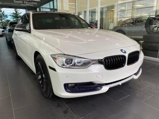 Used 2014 BMW 3 Series 328d xDrive HEADS UP DISPLAY, ACCIDENT FREE, SUNROOF, POWER HEATED LEATHER SEATS, NAVI for sale in Edmonton, AB