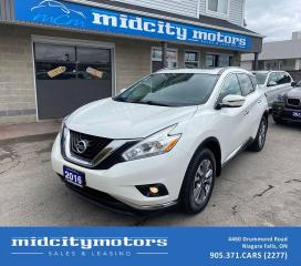 Used 2016 Nissan Murano SV 3.5L AWD/ NAV/ PANO SUNROOF/ CAM/ CLEAN CARFAX for sale in Niagara Falls, ON