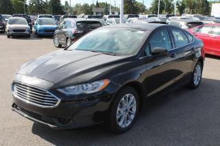 New 2020 Ford Fusion SE 150A, 1.5L GTDI, Power Heated Seats, Cruise Control, Remote Keyless Entry/Keypad, Lane Keeping System, Reverse Camera/Sensing System, Navigation for sale in Edmonton, AB