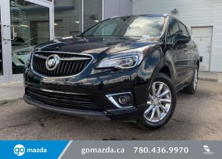 Used 2020 Buick Envision ESSENCE - AWD, LEATHER, FRONT AND REAR HEATED SEATS, BACK UP, GREAT VALUE! for sale in Edmonton, AB