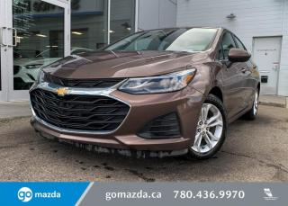 Used 2019 Chevrolet Cruze LT - PUSH BUTTON, BLUETOOTH, BACK UP, HEATED SEATS, IN CAJUN RED for sale in Edmonton, AB