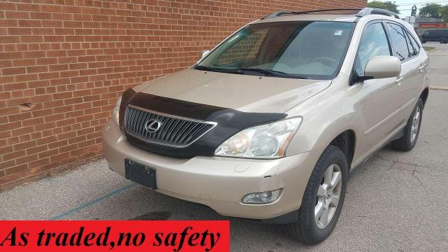 2004 Lexus RX 330 leather roof