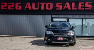 Used 2015 Dodge Journey SXT|ACCIDENT FREE|7 SEATER|HEATED SEATS for sale in Brampton, ON