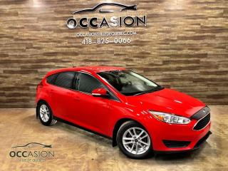 Used 2015 Ford Focus FORD FOCUS 5 portes SE ROUGE 2015 for sale in Ste-Brigitte-de-Laval, QC