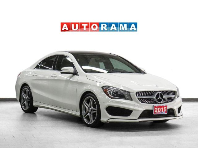 2015 Mercedes-Benz CLA 250 4Matic AMG Pkg Navigation Leather Sunroof Bcam